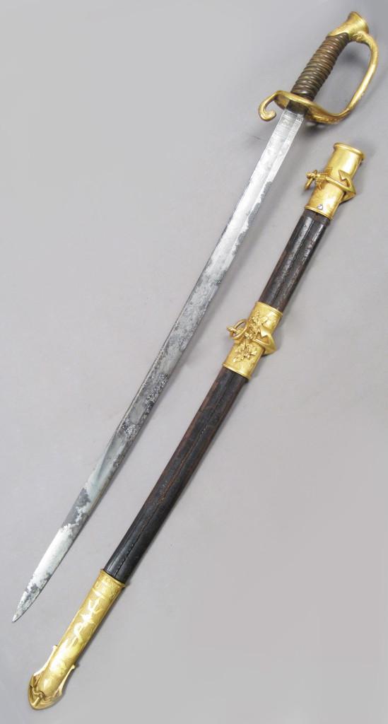 Antique Tiffany Presentation Sword: Militaria & Guns