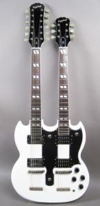 Vintage Double Neck Guitar