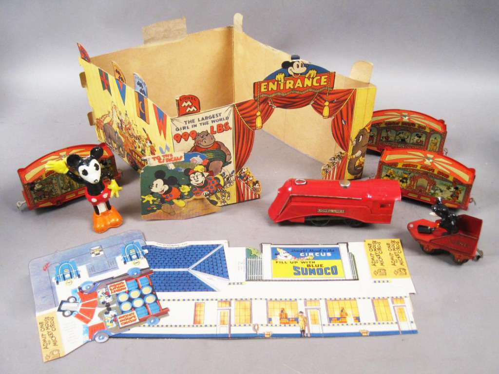Original Mickey Mouse Lionel Train Set