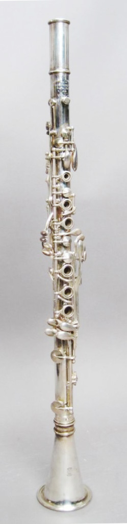 Antique Sterling Silver Clarinet