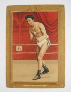 Antique Boxing Cigarette Jem Driscoll Card