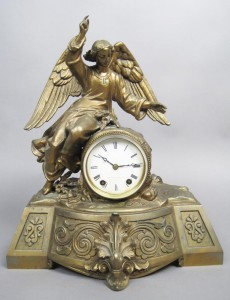 clock: antique decorative objects