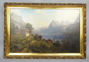 Beautiful Fine Art Landscape Oil Painting
