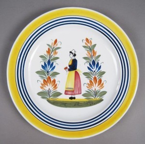 quimper faience: Porcelain & China