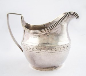 Antique Sterling Silver Creamer