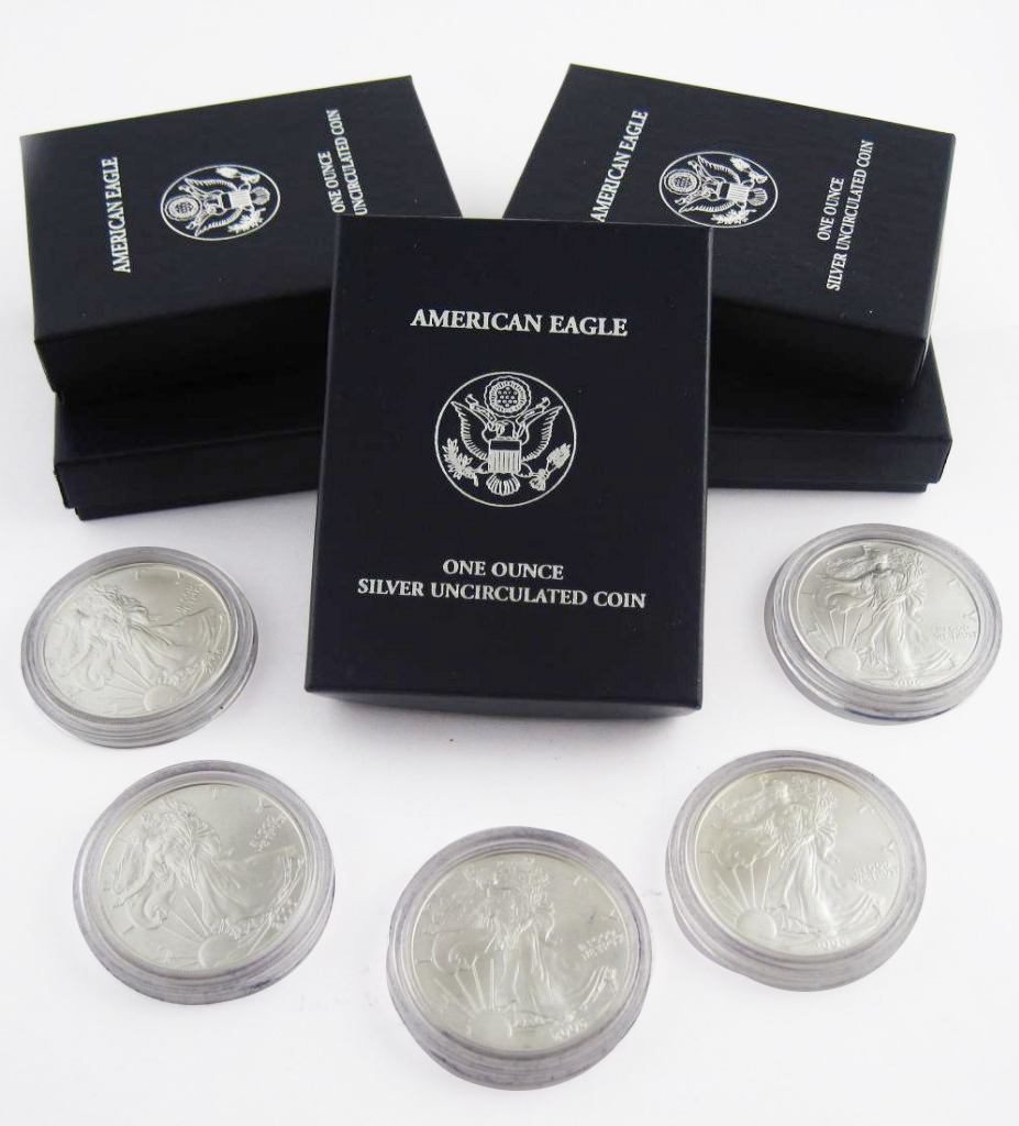Silver Uncirculated American Eagle Coins