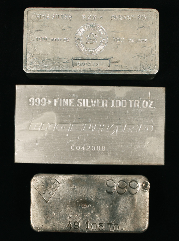 Buy Sell Engelhard Silver Bars Ingots Bullion Saratoga Springs Albany Colonie Clifton Park NY