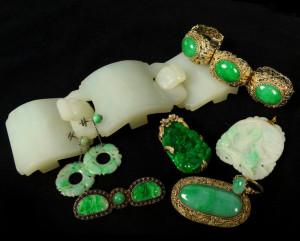 Fine Oriental Jade Jewelry