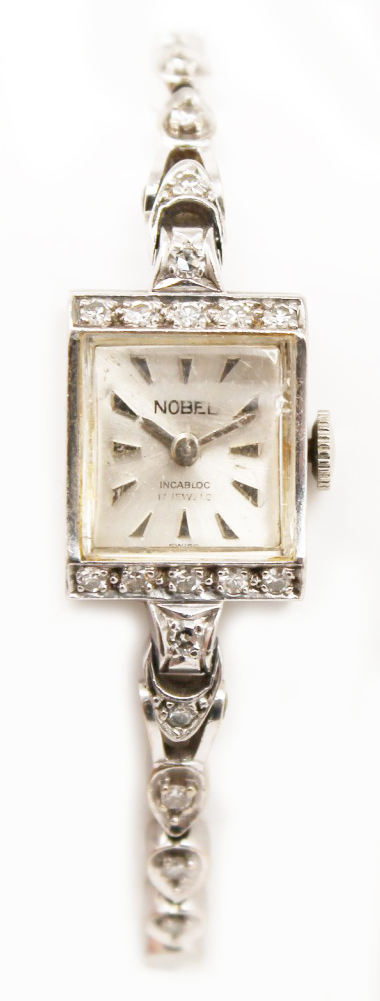 Buy Sell Vintage White Gold Diamond Ladies Watch Saratoga Springs Albany Colonie Clifton Park NY