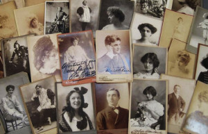 Collection of Autographed Historical Cabinet Cards