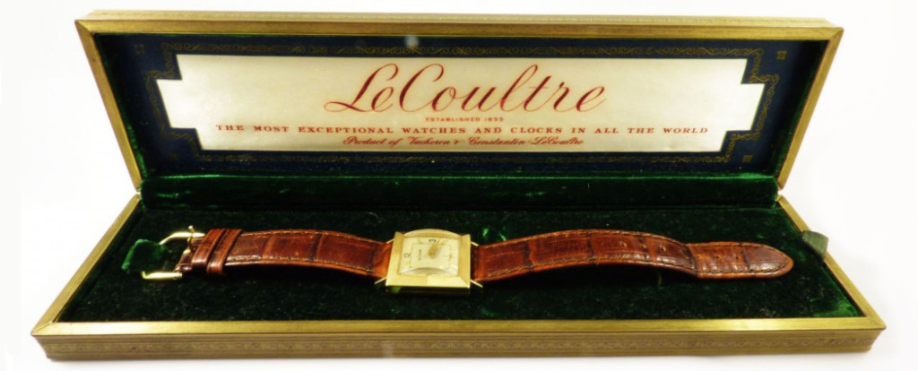 Buy Sell LeCoultre Designer Men's Wristwatch Watch Saratoga Springs Albany Colonie Clifton Park NY
