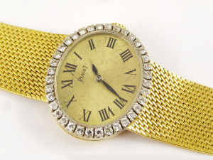 Buy Sell Designer Piaget Diamond Gold Ladies Wristwatch Watch Saratoga Springs Albany Colonie Clifton Park NY