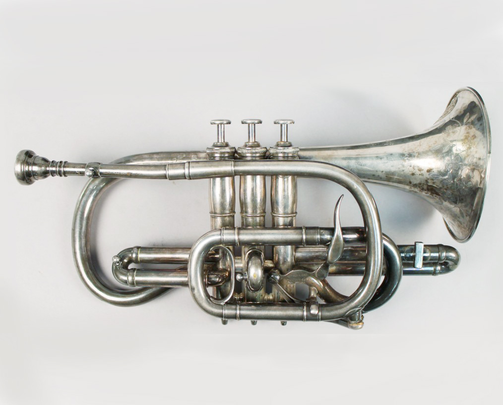 Sterling Silver Trumpet