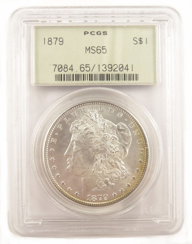 PCGS Graded American 1 Dollar Liberty Head Silver Dollar