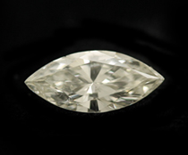 Marquis Cut Clear Natural Diamond