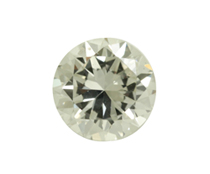 Round Brilliant Cut Clear Natural Loose Diamond