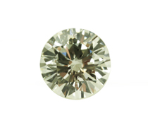 Old European Cut Clear Natural Diamond