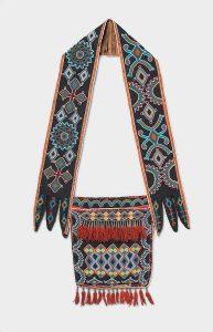 Native American Shoulder Bag ca. 1840