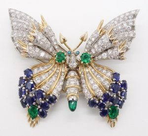 """""""Butterfly"""" Brooch by Jean Schlumberger for Tiffany & Co."""