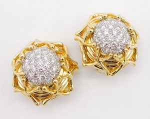 """Multiplication"" Earrings by Jean Schlumberger for Tiffany & Co."