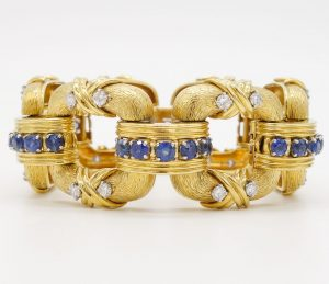 Sapphire and Diamond Bracelet by Jean Schlumberger for Tiffany & Co.