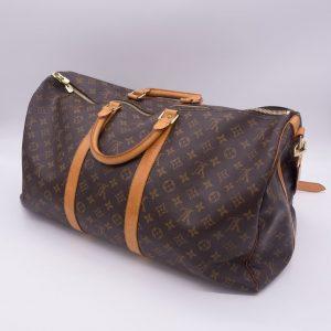 Louis Vuitton Keepall Bandouliere 55 Travel Duffle Bag