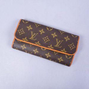 Louis Vuitton Pochette Twin PM mini bag.