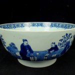 Chinese Punch Bowl 4- antique decorative arts