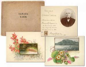 Historic Rufus Grider Canada Lake Journal