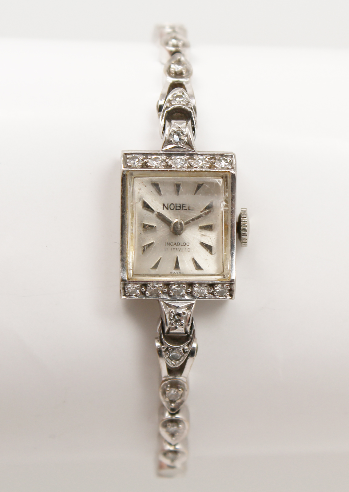 Antique Nobel Incabloc Art Deco Ladies Mechanical Watch
