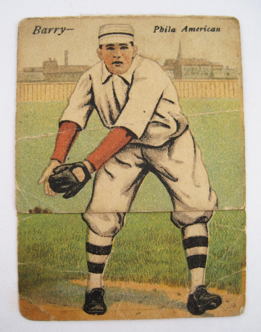 Antique Baseball Printed Cigarette Card