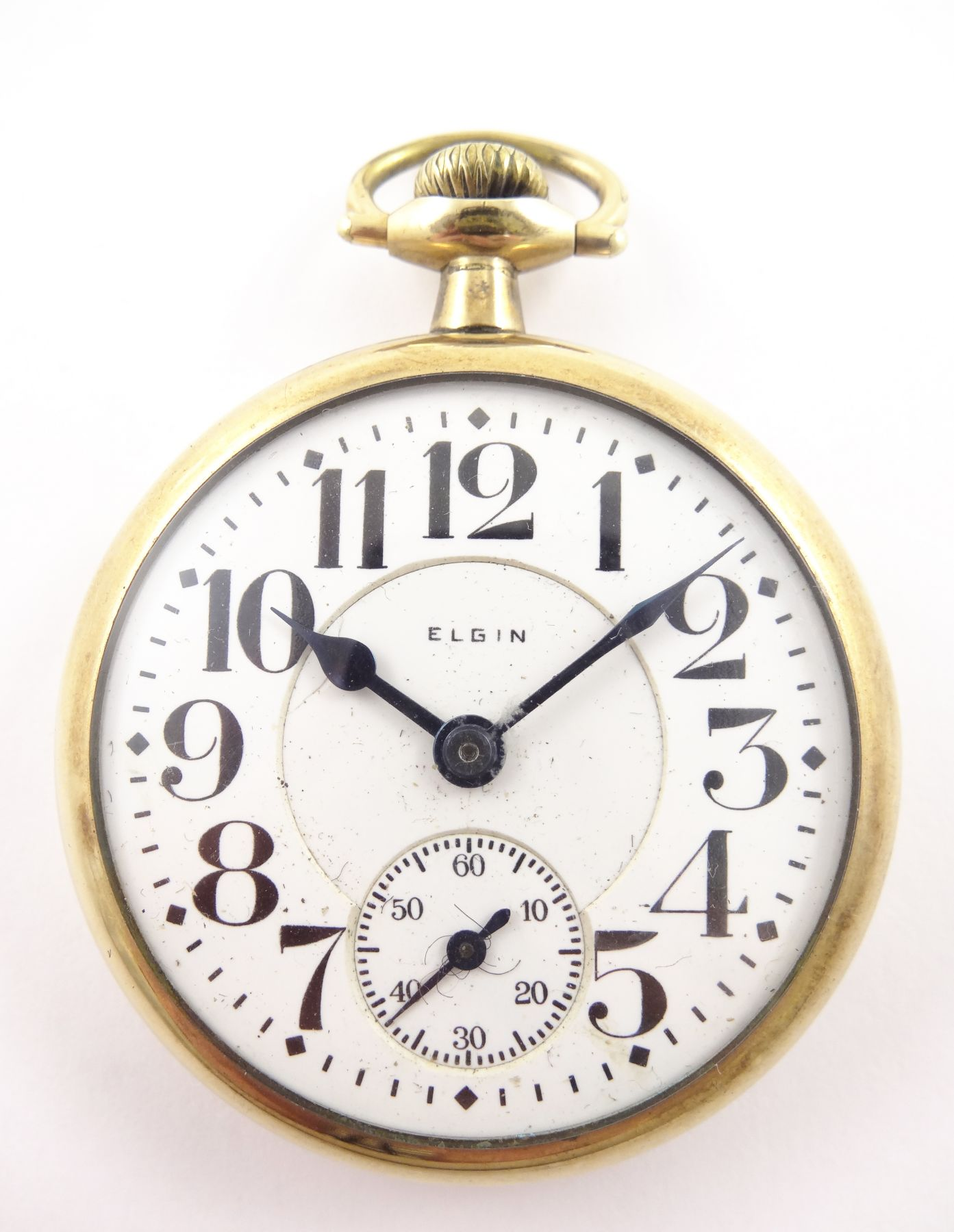 Antique Railroad Grade Elgin Gold Pocketwatch