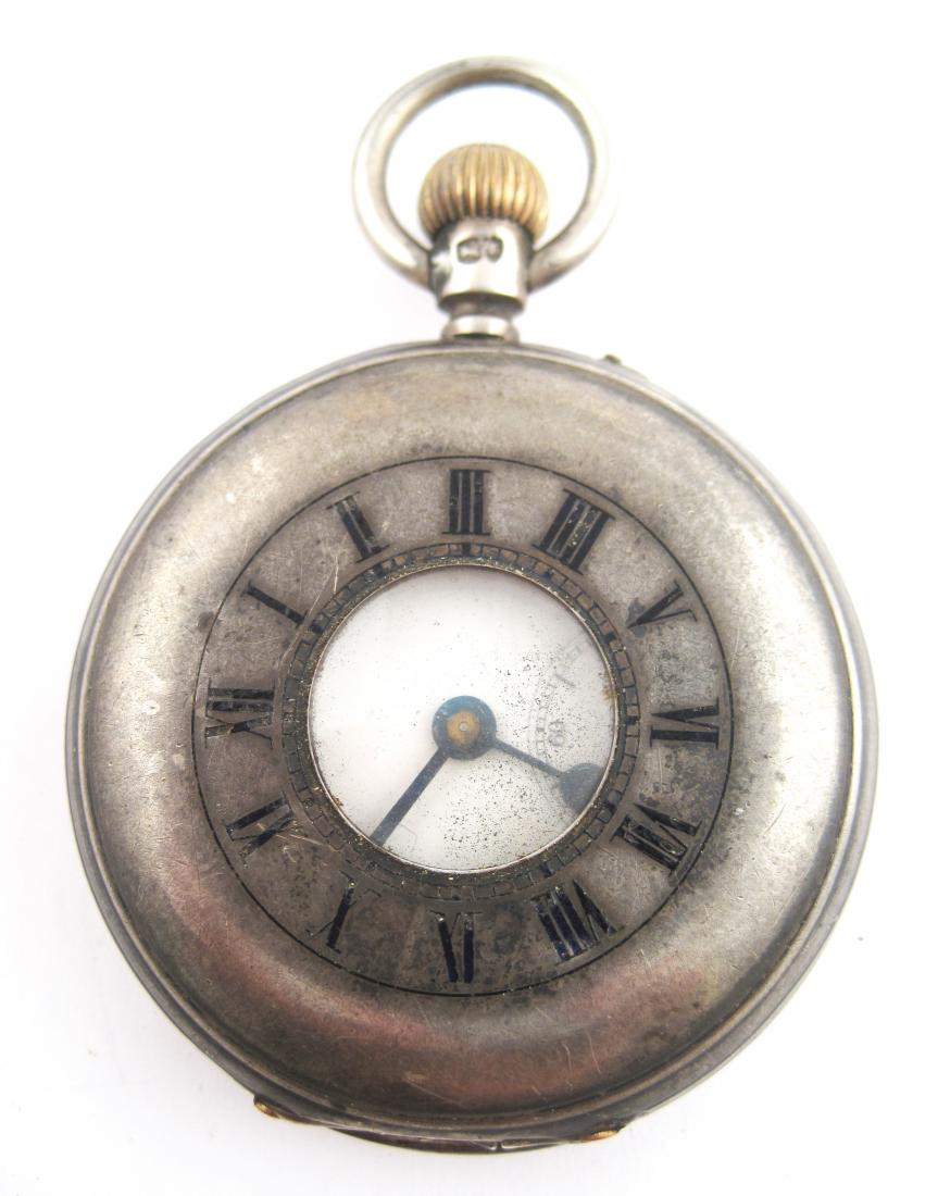 Antique Unusual Silver Pocketwatch