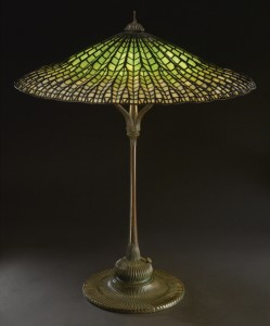 Tiffany Studios Lotus Table Lamp: exceptional furniture